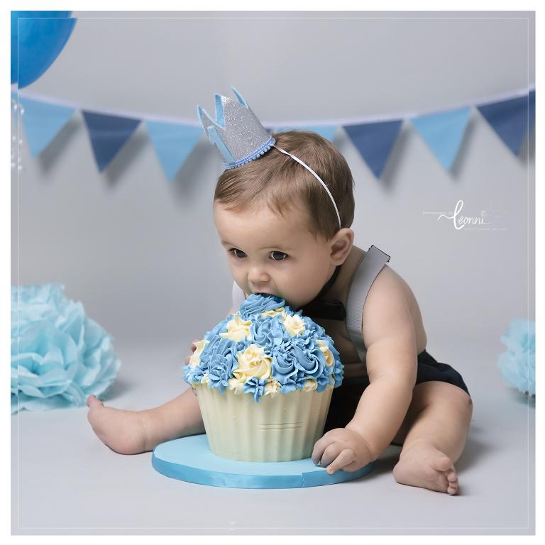 first birthday photo shoot stockport