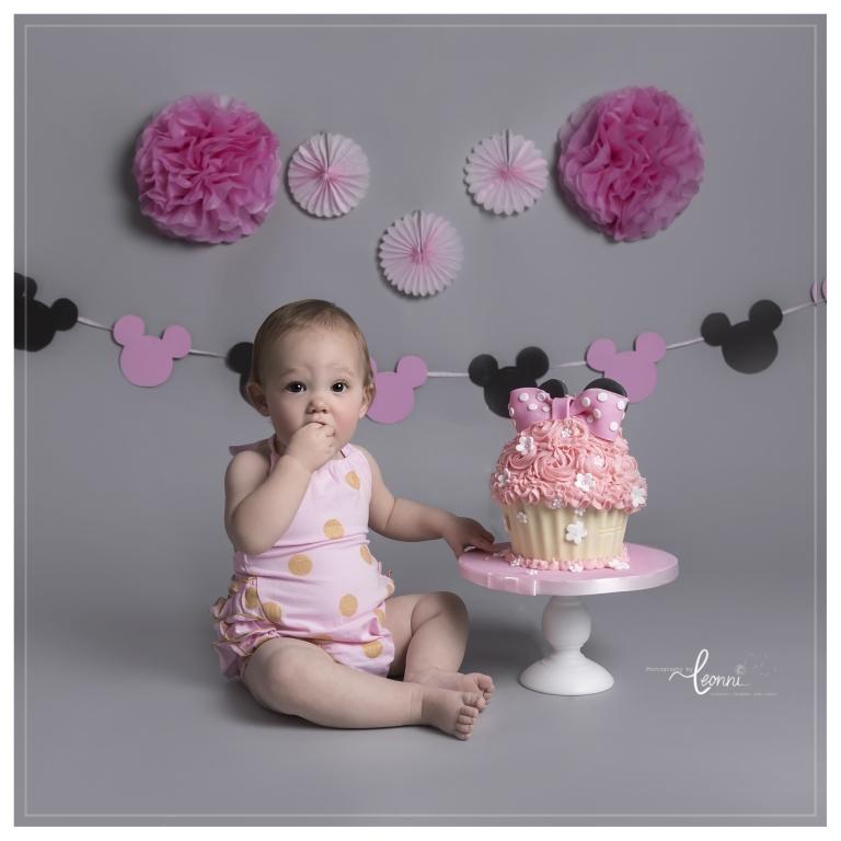cake smash photography stockport 4
