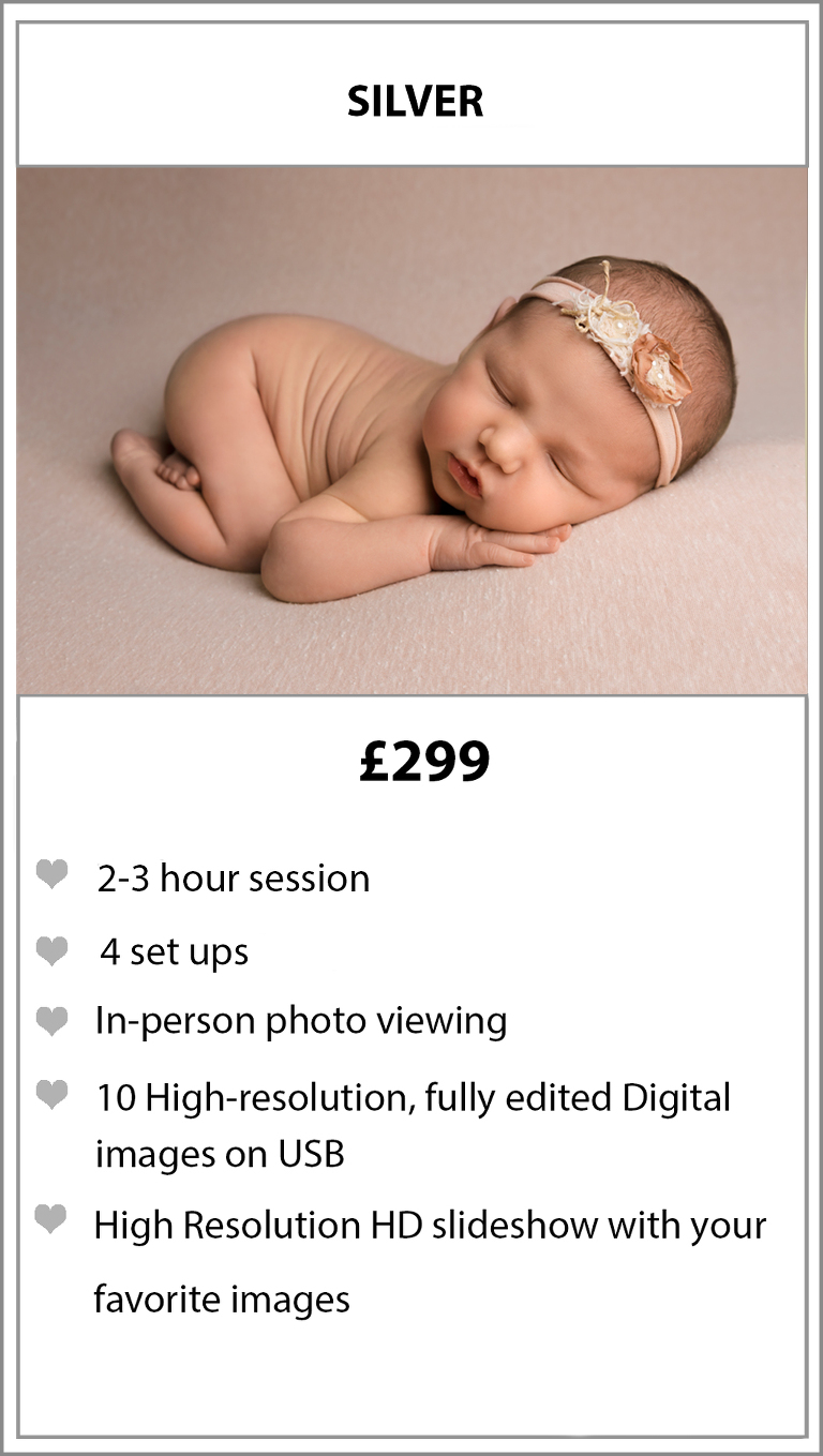 Package upgrades and additional products will be available to purchase at your viewing appointment newborn photographer stockport