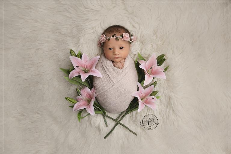 newborn photoshoot stockport