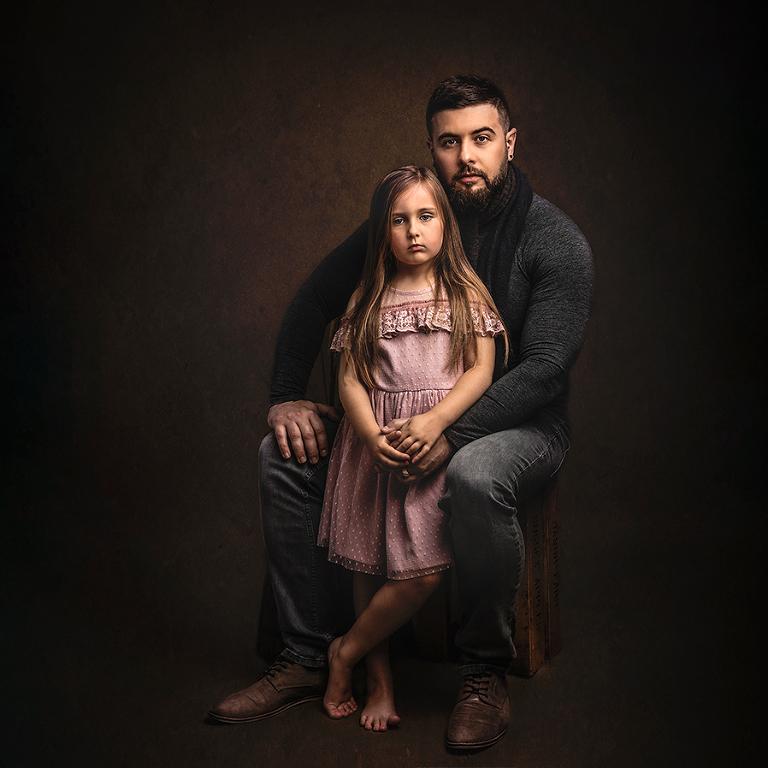 family photo shoot stockport